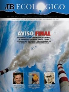 Edição de novembro - JB Ecológico / Jornal do Brasil